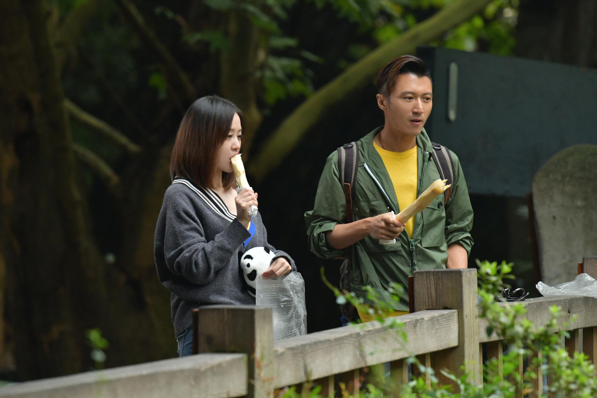 谢霆锋、张靓颖学方言、钓熊猫!开启成都《锋味》