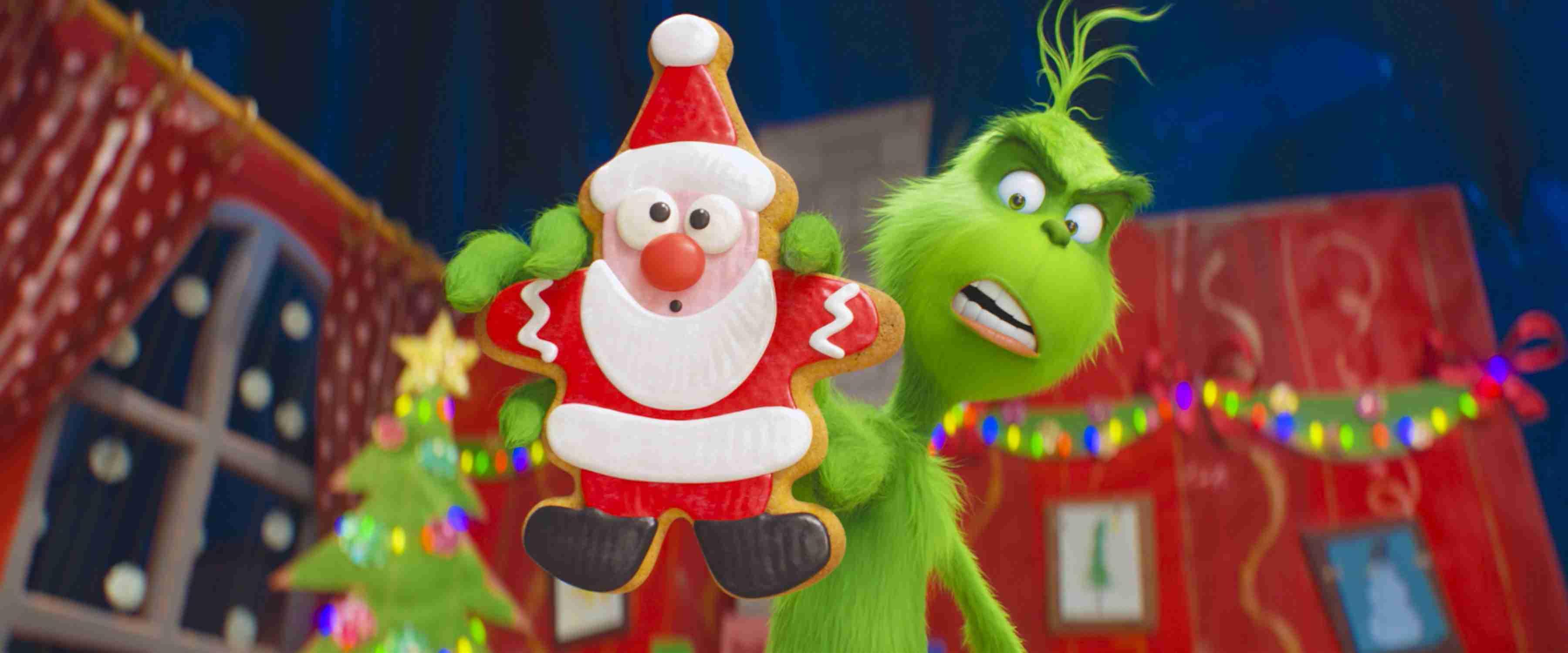 《绿毛怪格林奇》预热欢乐圣诞 爆笑山羊成新晋网红