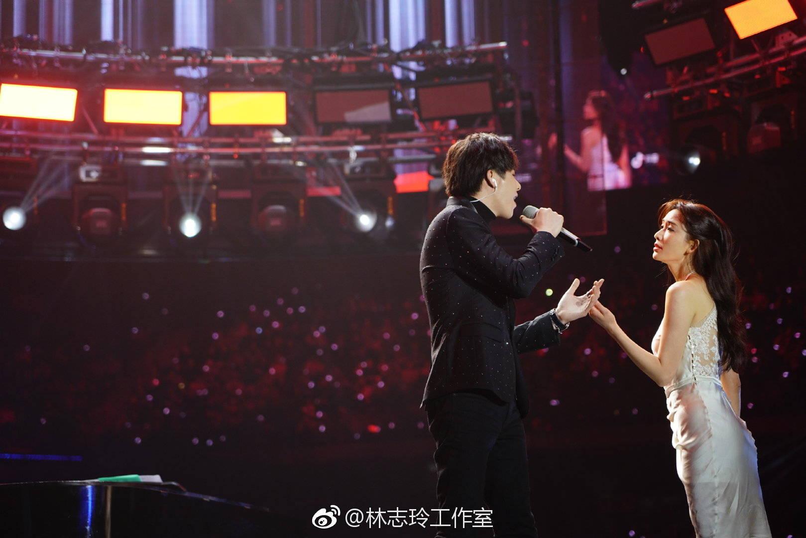 这是什么神仙合作!林志玲与刘宇宁合照流出图片