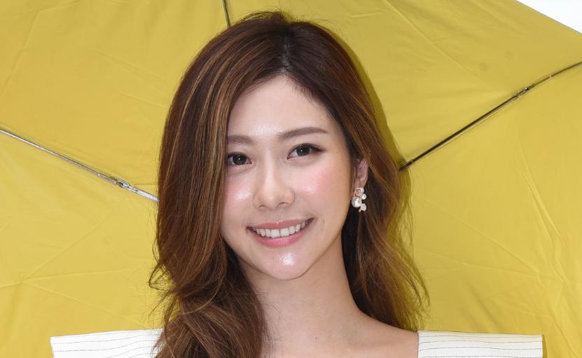 张景岚亮丽出席雨阳伞品牌新品发表会