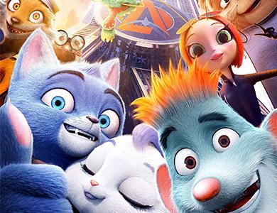 猫鼠贺岁 开年动画电影《动物特工局》定档1月3日  23城点映先睹为快
