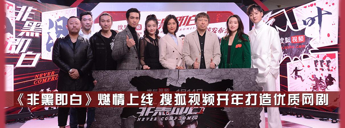 《非黑即白》燃情上线  搜狐视频开年打造优质网剧